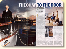 article - quay to the door